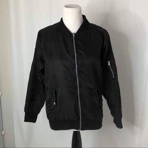 Men's size xl Brooklyn cloth bomber jacket